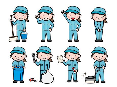 10月スタートしたお仕事!清掃系のお仕事経験は必要なし!未経験者も歓迎です!!